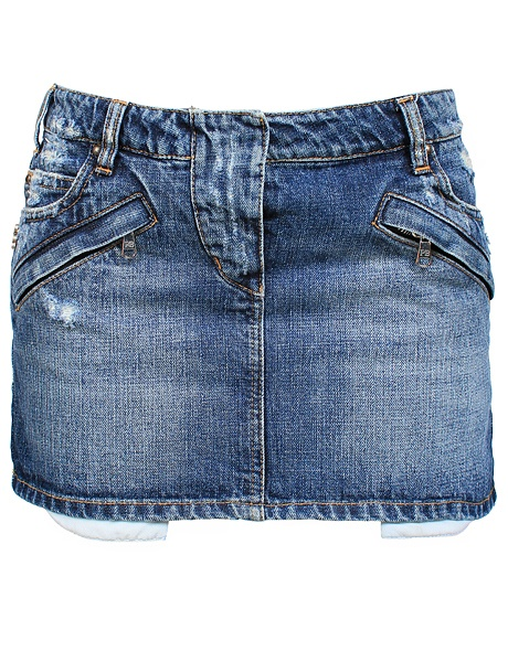 frayed denim skirt from mrs h outlet discount womens fashion online