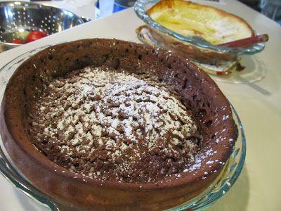 Chocolate Dutch Baby | Favorite Foods | Pinterest