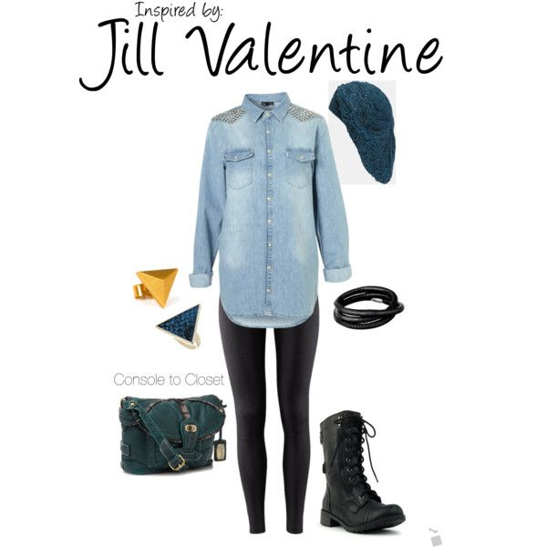 jill valentine outfit 2 (beach)