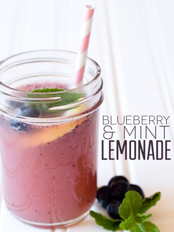 Blueberry Mint Lemonade Recipe — Dishmaps