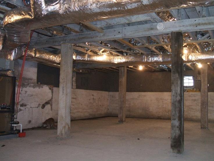 large basement old house encore pinterest
