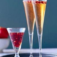 Pomegranate Sparklers | Food + Drink + Recipes | Pinterest