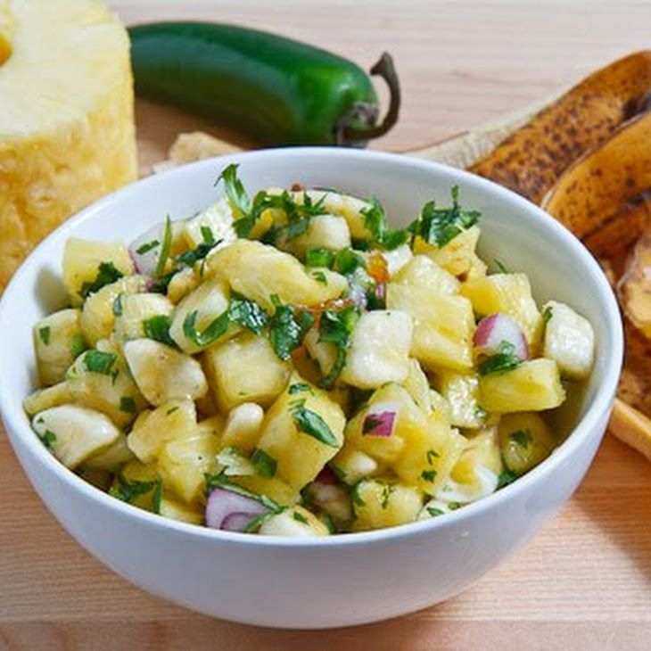 Pineapple and Banana Salsa | Recipes.... | Pinterest