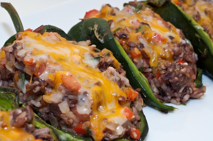 ... mexican stuffed peppers chorizo stuffed poblanos host the toast
