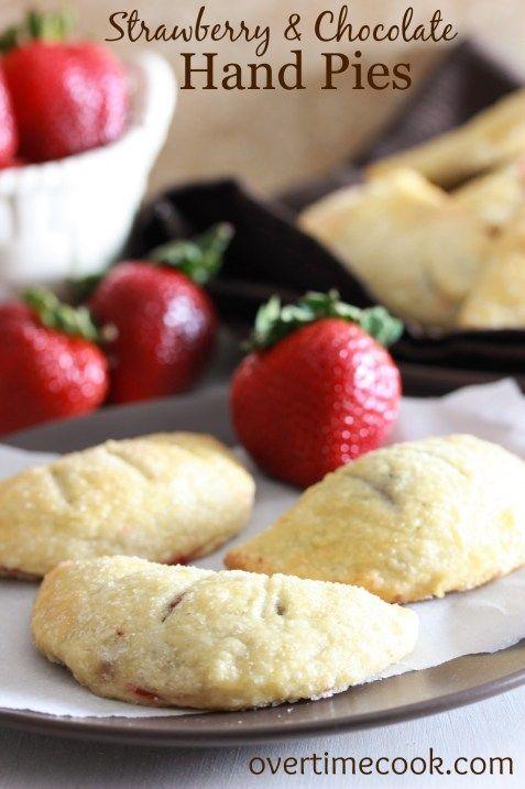 Strawberry Chocolate Hand Pie | Sweet Things | Pinterest