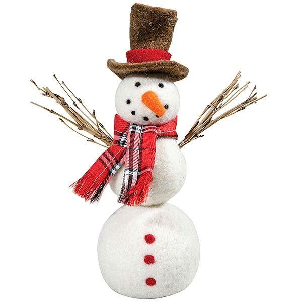 Bonhomme de neige ecossais - Decoration de noel bonhomme de neige ...