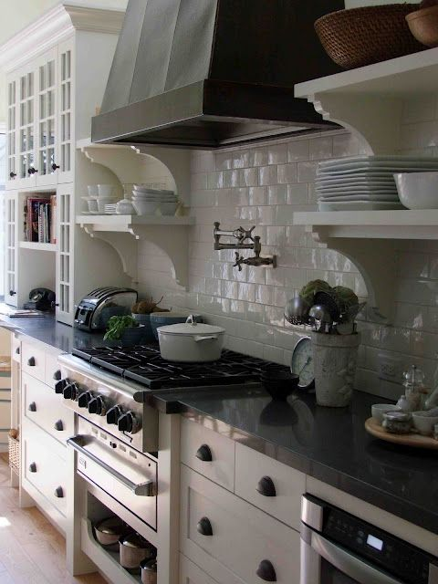 """minus the subway tile I love this (replace it with a white 6"""" ogee tile"""