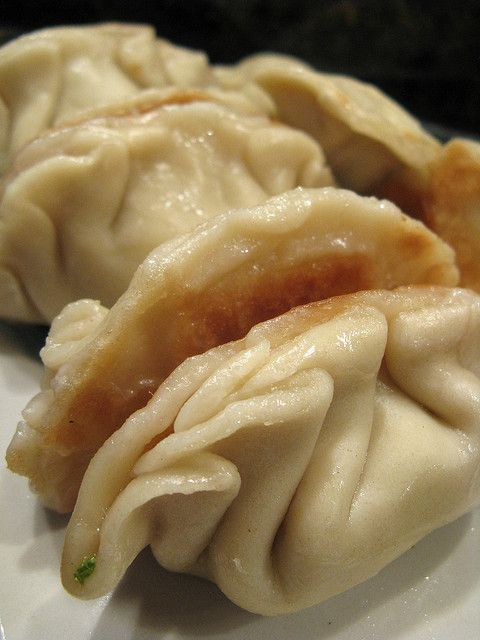 chinese pot stickers!
