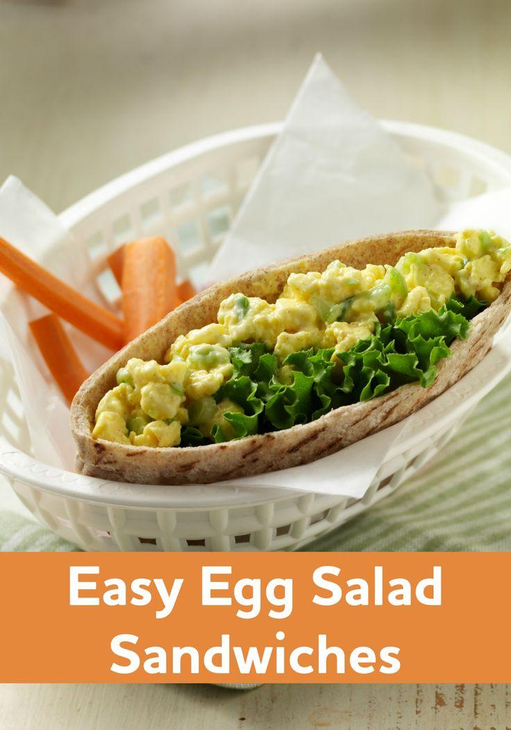 This Easy Egg Salad Sandwich recipe is a fan favorite—ready to enjoy ...
