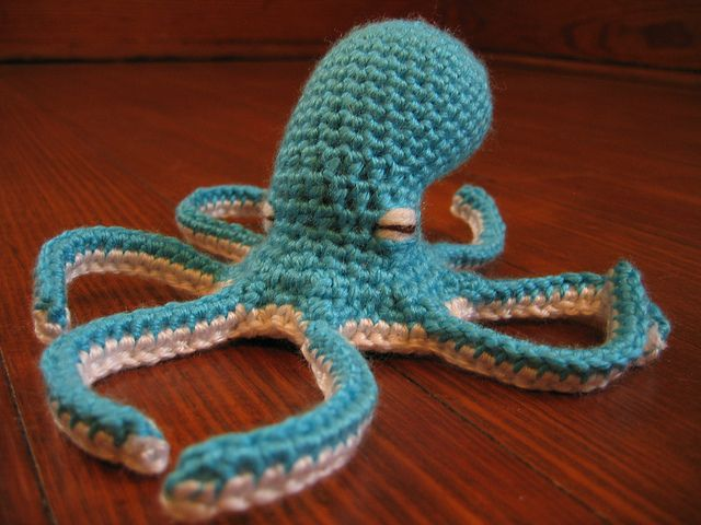Crochet Octopus Hat : crochet octopus - how great is this? Why dont I have a yarn board ...