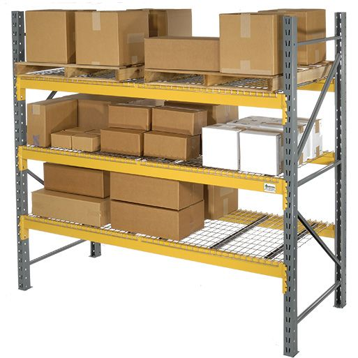 double slots warehouse forklift video