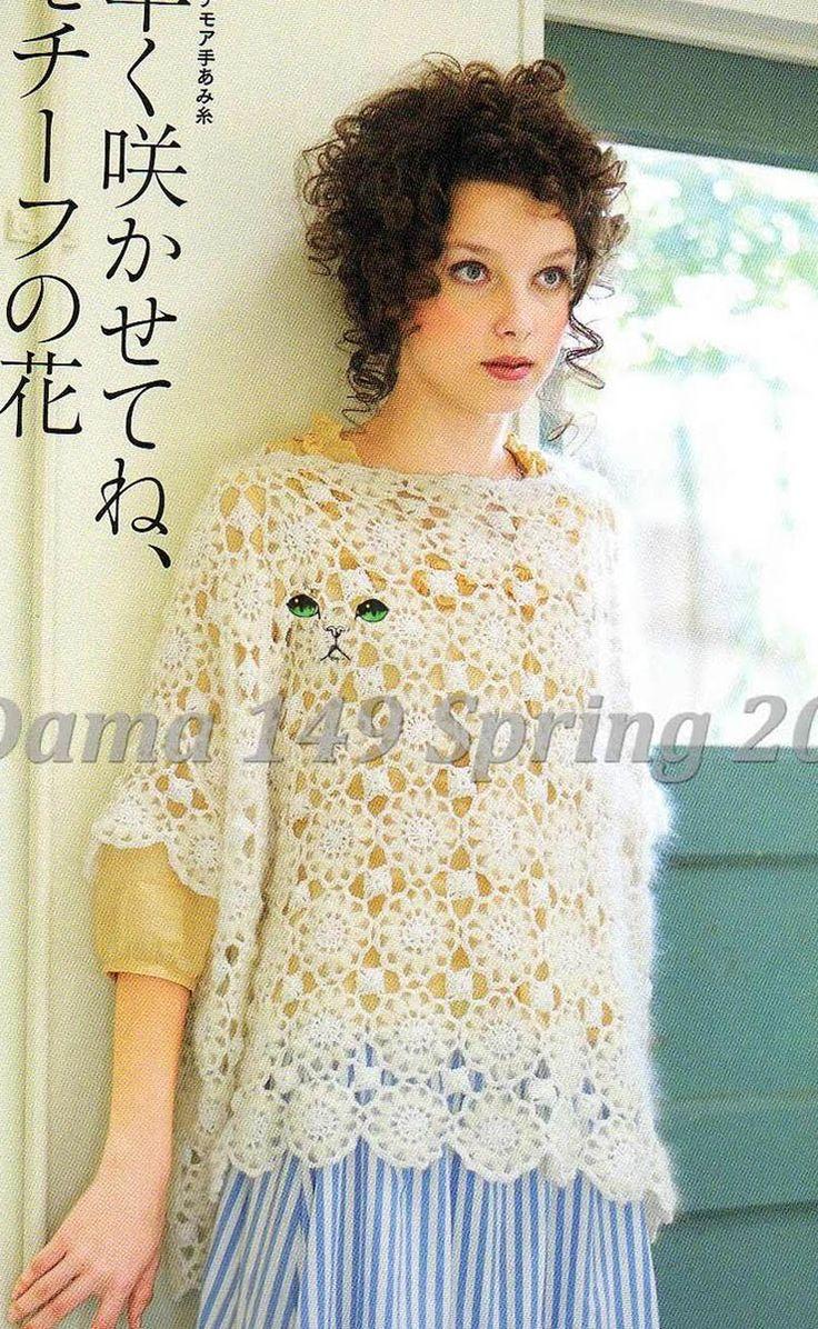 ... by Dayana Knits on Keito Dama Knitting Crochet Magazine Pintere