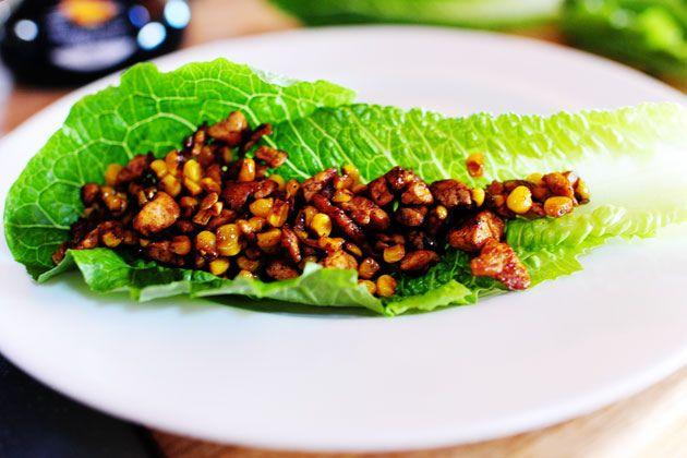 Pioneer Woman Vegetarian Lettuce Wraps...wait, what? Pioneer Woman ...