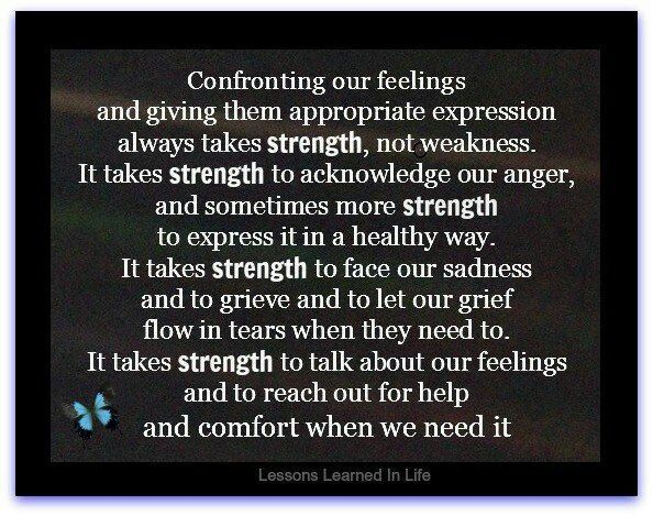 Words of Comfort and Strength