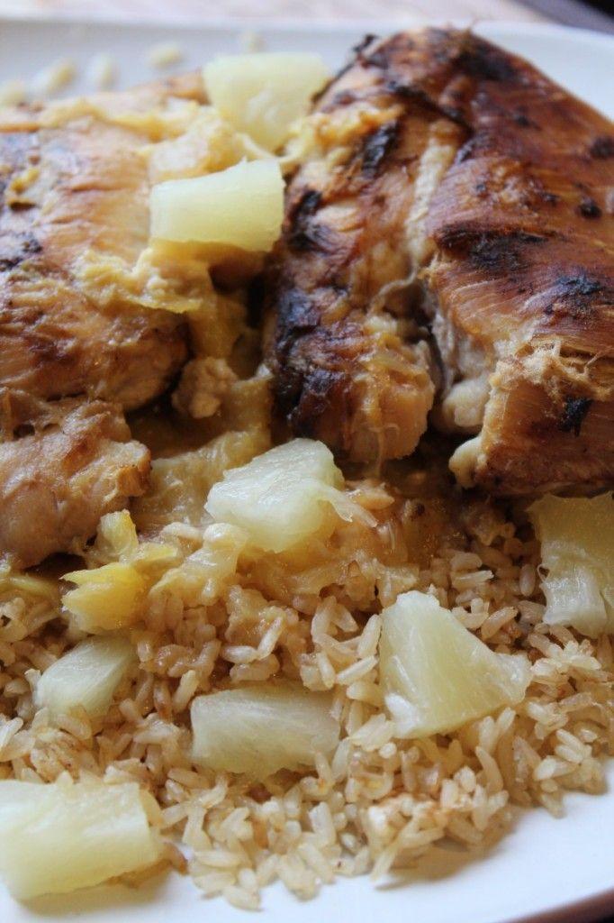 Crock Pot Pineapple Chicken Recipe also known as Crock Pot Hawaiian ...