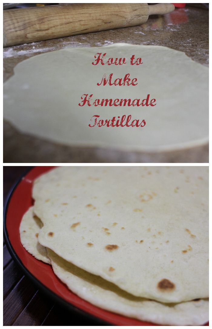 How to Make Homemade Tortillas | Food-Breads and Doughs | Pinterest