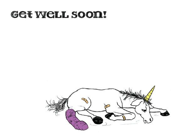 GET WELL SOON TO OUR FAVE UNICORN!! Cff18d91841f05694e94682bd23d83b0