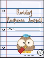 The Diary of a Not So Wimpy Teacher: Great Reading Resource for Back to School: Reading Response Journal