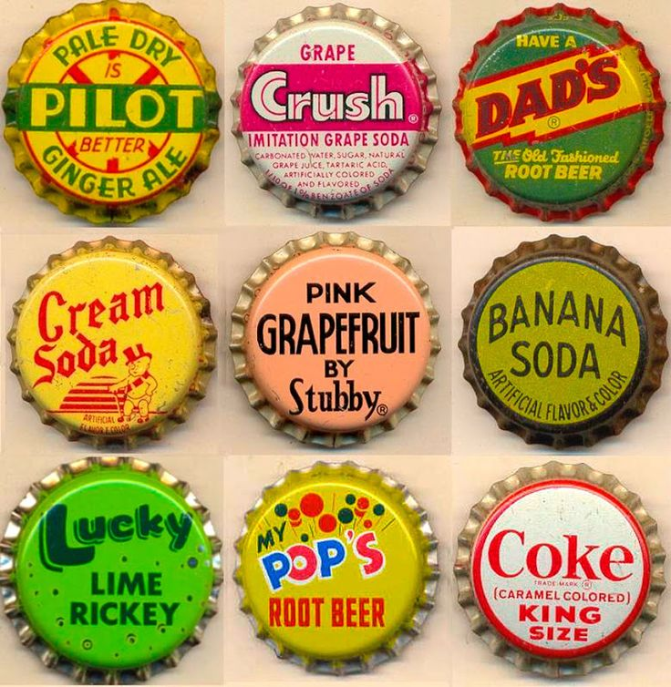 soda bottle caps food packaging pinterest