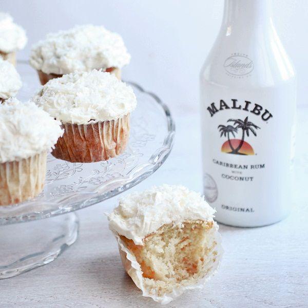 malibu cupcakes | Malibu | Pinterest