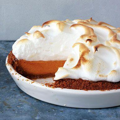 Sweet Potato Pie with Marshmallow Meringue | Recipe