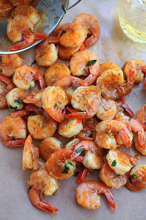 Peel and Eat Shrimp Recipe | http://rasamalaysia.com