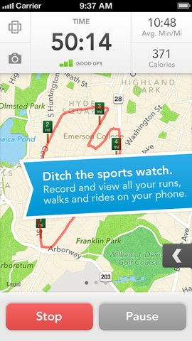 gps tracking ios app