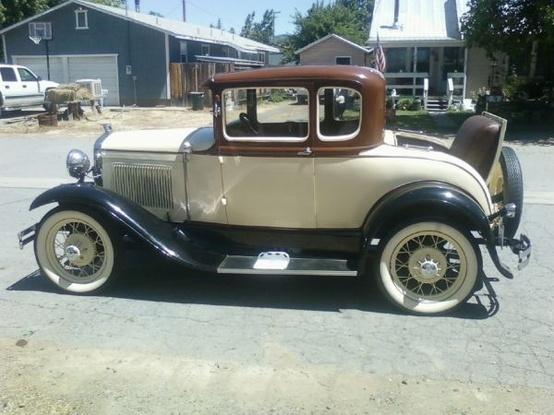 1930 Model Quot A Quot Ford Coupe Vw Bulli Pinterest