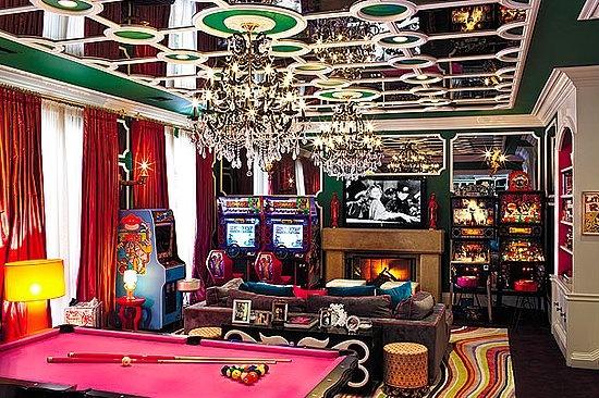 ultimate game room it 39 s a gamer 39 s world pinterest. Black Bedroom Furniture Sets. Home Design Ideas