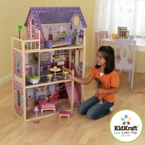 kidkraft wood pretend play dollhouse furniture
