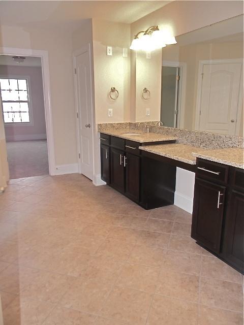 owners bath granite santa cecelia timberlake cabinets tahoe