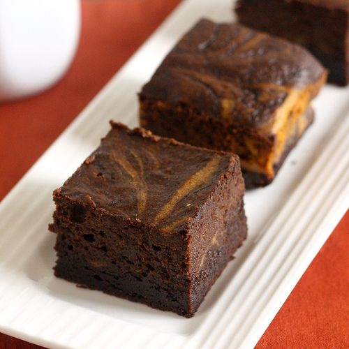 Pumpkin Cheesecake Brownies | Bars, Cookies and Fudge! | Pinterest