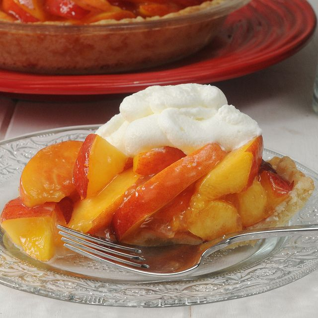 fresh peach pie | Peaches | Pinterest