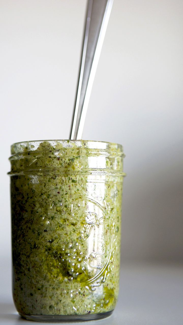 RAMP PESTO ~~~ recipe gateway: this post's link AND http://www ...