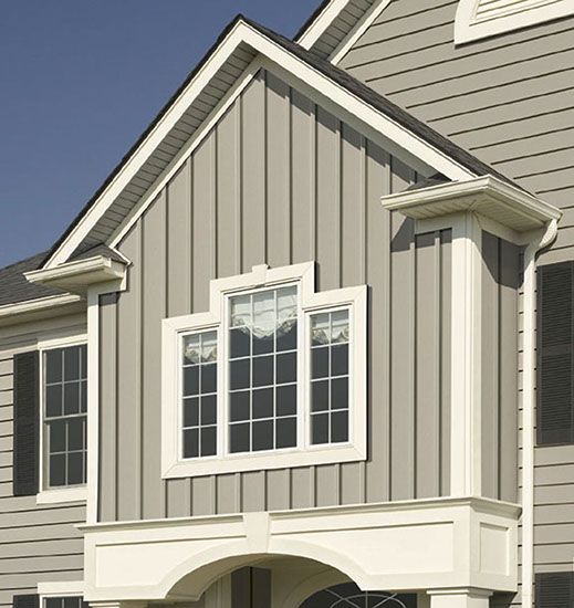 Pin by atb on paint colors pinterest for Vertical house siding pictures