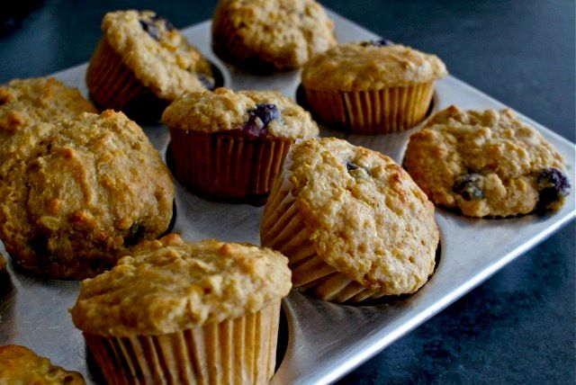 Want to try this recipe - blueberry oatmeal muffins, made with lentils ...