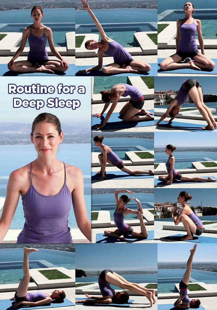 5 Super Quick Yoga Routines And Poses For Better Sleep And Why You Need Them (With Video)