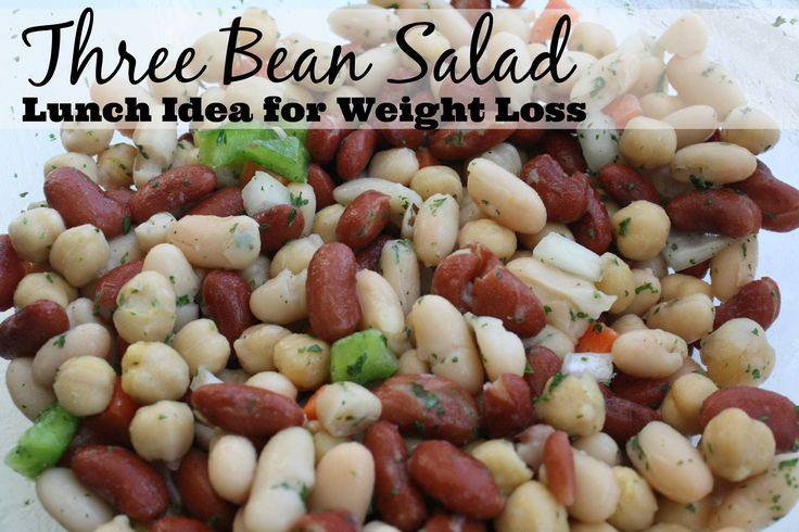 Three Bean Salad: Easy, Quick and great for weight loss!