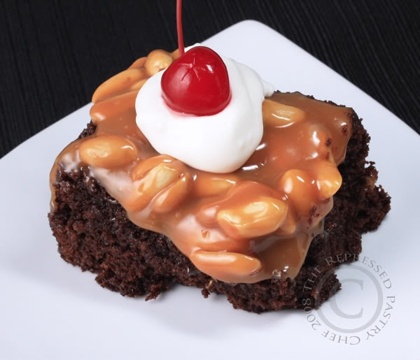 ice cream sundae brownies | Yummy food and drink | Pinterest