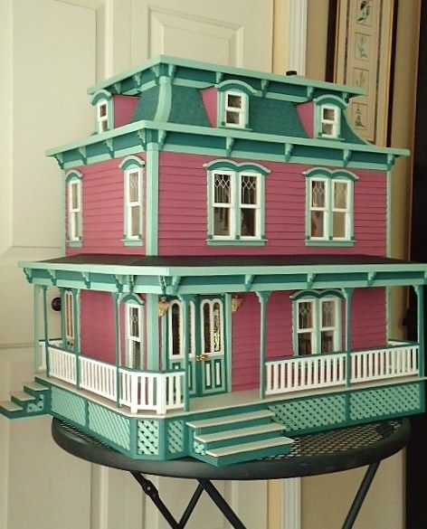 The Lily Victorian Dollhouse Doll Houses Pinterest