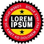 Como hacer un sello o logotipo circular con Illustrator   Imagen digital