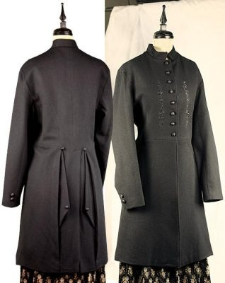 English Riding Coat A tailored design with an equestrian demeanor is
