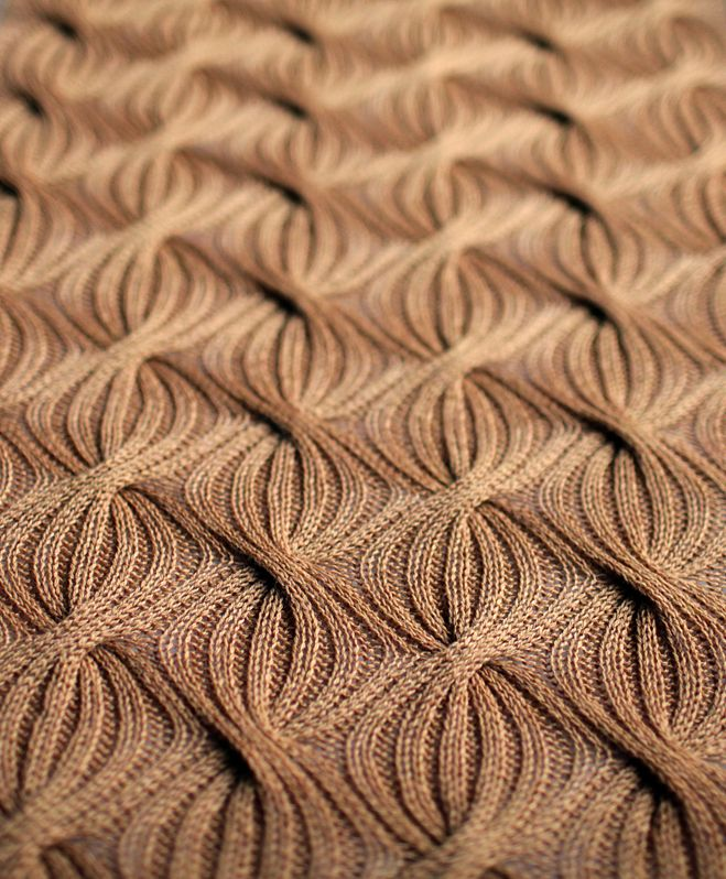 Reversible Knitting Patterns : Reversible Cabled-Rib Shawl Knitting Foo Pinterest