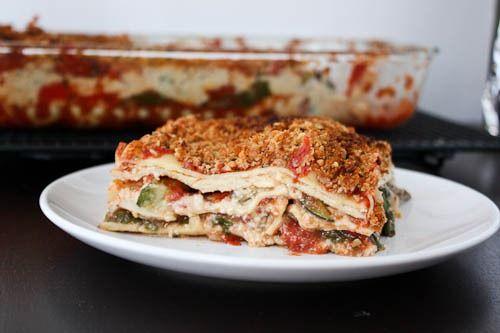 The Ultimate Vegan Veggie Lasagna | Yummy Recipes! | Pinterest