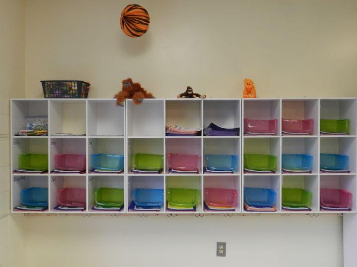 Classroom Cubby Ideas ~ Classroom cubbies teaching pinterest