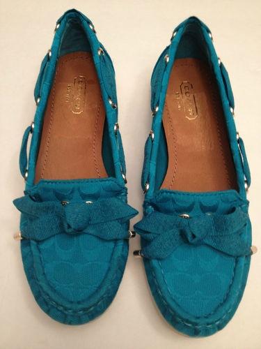 Coach boat shoes