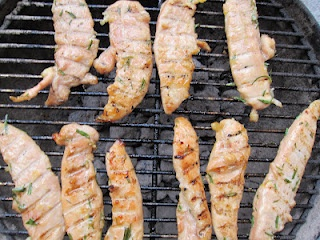 Hey, who cut the cheese?: Honey, Lemon, & Rosemary Grilled Chicken