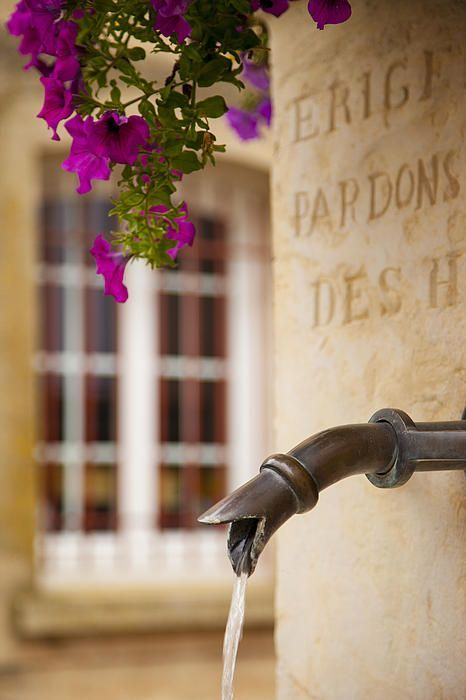 Water fountain, France. Photo: Brian Jannsen