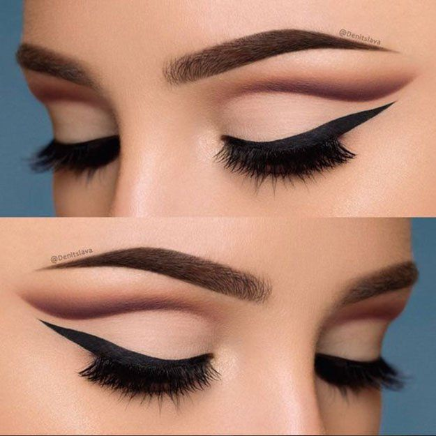 Dramatic makeup for hooded eyes 2017 ( photo )