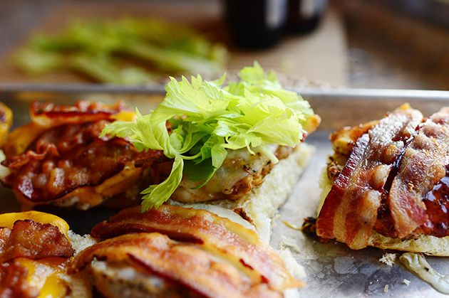 Grilled Chicken Bacon Sliders by Ree Drummond / The Pioneer Woman, via ...